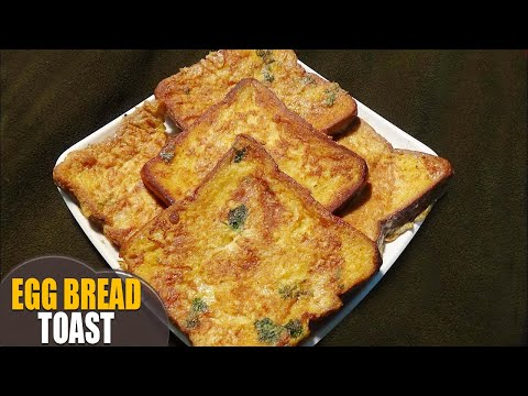 Egg Bread Toast/simple cooking recipe/Christmas Special recipe with Merry christmas music