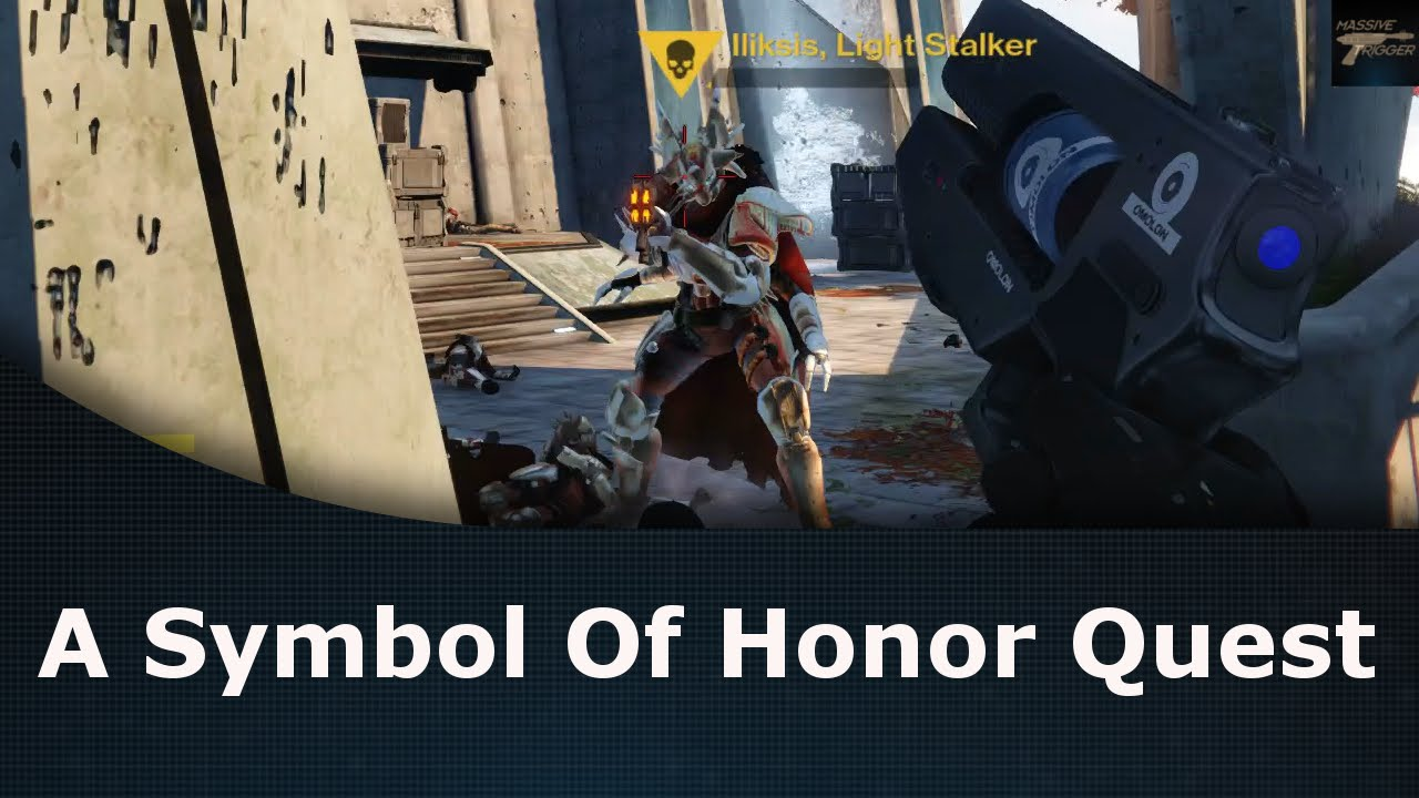 Destiny Rise Of Iron A Symbol Of Honor Quest Walkthrough Youtube