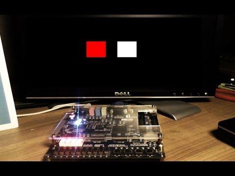 FPGA Tutorial 4. VGA in VHDL on Altera DE1 Board