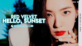 Red Velvet (레드벨벳) – Hello, Sunset | Line Distribution