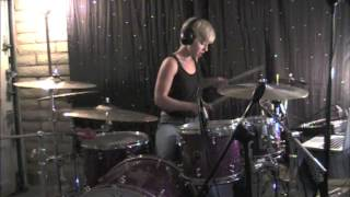 Lindsey Raye Ward - No Doubt - Push And Shove (Drum Cover)