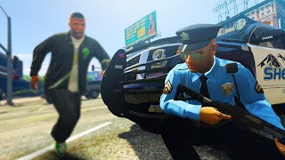 GTA 5 Mods - THE WORST CITY TO BE A COP! BEING A COP IN GTA 5! (GTA 5 LSPDFR)