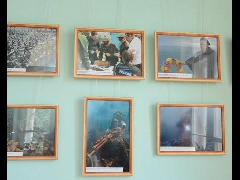 Выставка подводной фотографии открылась в залах Дачи Стамболи смотреть онлайн