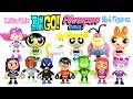 Teen Titans Go! & The Power Puff Girls Robin Beast Boy Starfire Blossom Bubbles & Buttercup