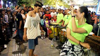 Download lagu Penonton datang bikin rusuh angklung malioboro yogyakarta