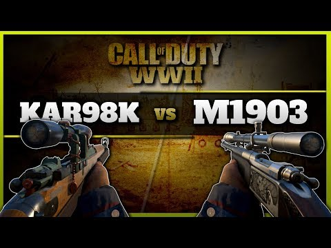 Kar98k vs. M1903 | What is the Best Sniper Rifle in CoD WW2?