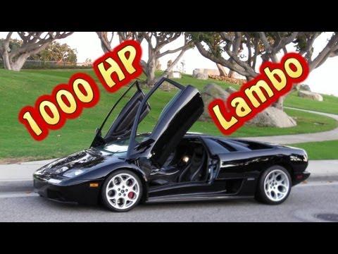 1000 + HP Lamborghini Diablo from Nelson Racing Engines.  Variable Geometry Mirror Turbos.  Pt. 2.