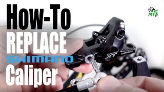 Shimano Brake CALIPER Compatibility, How-To Replace, Miאing and Matching