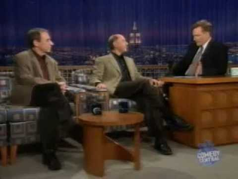 Harry Shearer & Dan Castellaneta bei Conan O'Brien