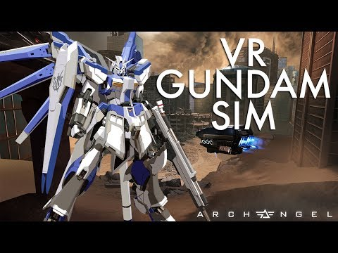 I Can Finally Pilot a Gundam in VR | Archangel VR Gameplay