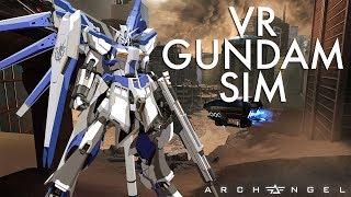 I Can Finally Pilot a Gundam in VR | Archangel VR Gameplay