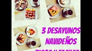 3 Desayunos Navideños Ricos y  Faciles - Christmas - malir15 Thumbnail