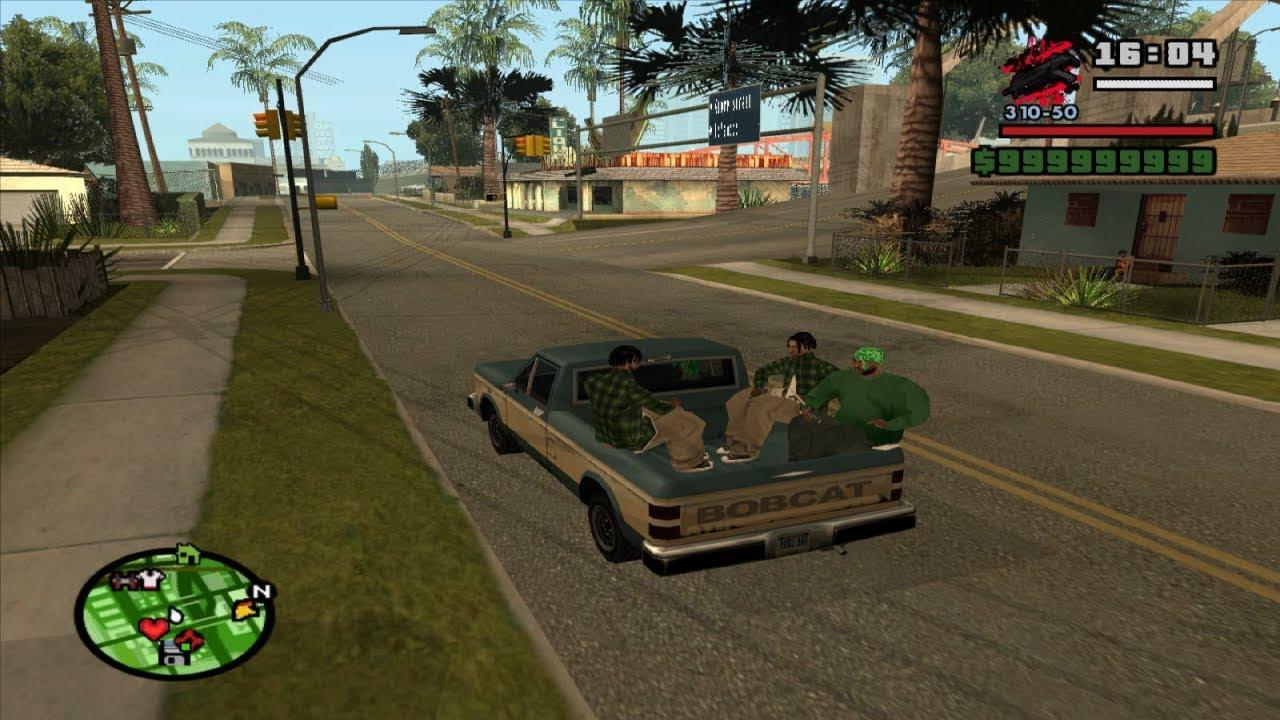Gta San Andreas Gang Ride Load Gang In More Vehicles Mod