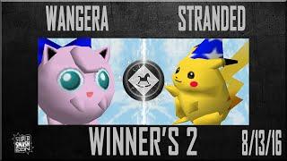 SSC - Wangera (Jigglypuff) Vs. Stranded (Pikachu, Captain Falcon) SSB64 Winner's 2 - Smash 64