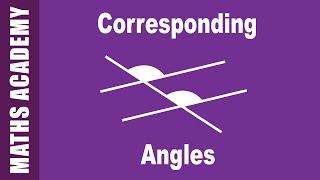 Corresponding Alternate and Co-interior Angles