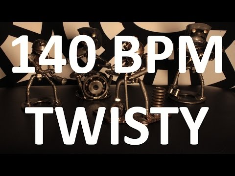 140 BPM - Twisty ROCK - 4/4 Drum Track - Metronome - Drum Beat