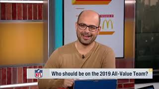The 2019 NFL All Value Team