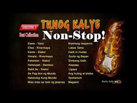 My Favorite Tunog - Kalye MP3 Playlist.
