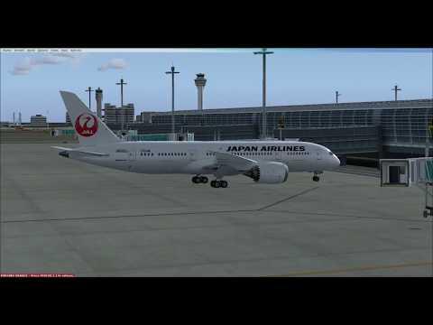 FSX | 787-8 Flight JAL91 RJTT-RKSS