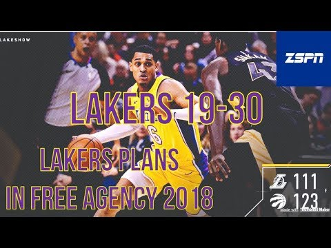 Lakers Loss to the Toronto Raptors 111-123, Lakers Plans in Free Agency 2018
