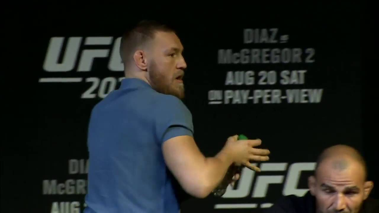 Ufc 202 Connor Mcgregor You Ll Do Nothing Youtube