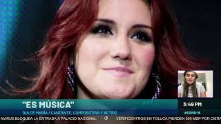 Baixar Dulce María revela sus canciones para apaciguar la cuarentena
