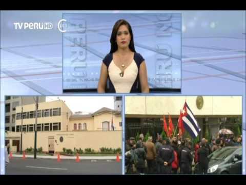 Embajada de Cuba en Perú iza bandera a media asta en señal de duelo