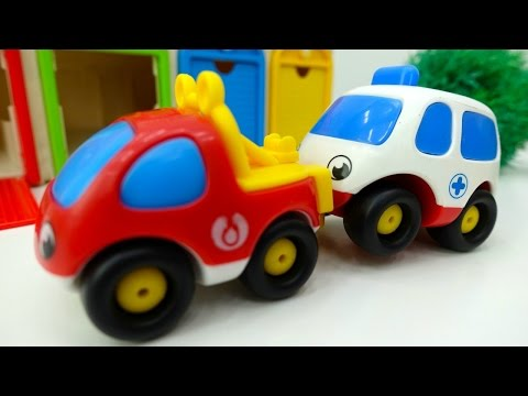 Toy Cars Videos. Helper Cars & Toy Cars. Toy Fire Trucks