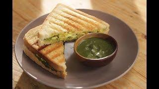 Paneer Bhurji Sandwich | Sanjeev Kapoor Khazana