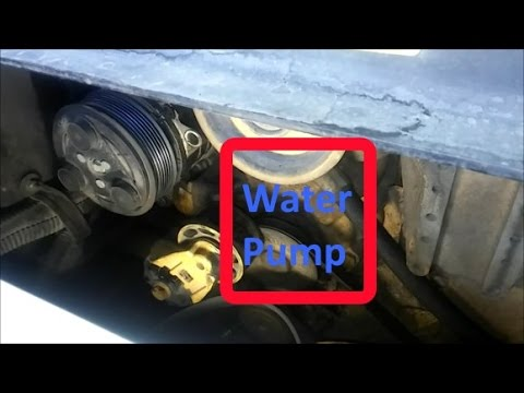 How To Change a Cat Water Pump On C7, 3126, and C9 Engines - YouTube