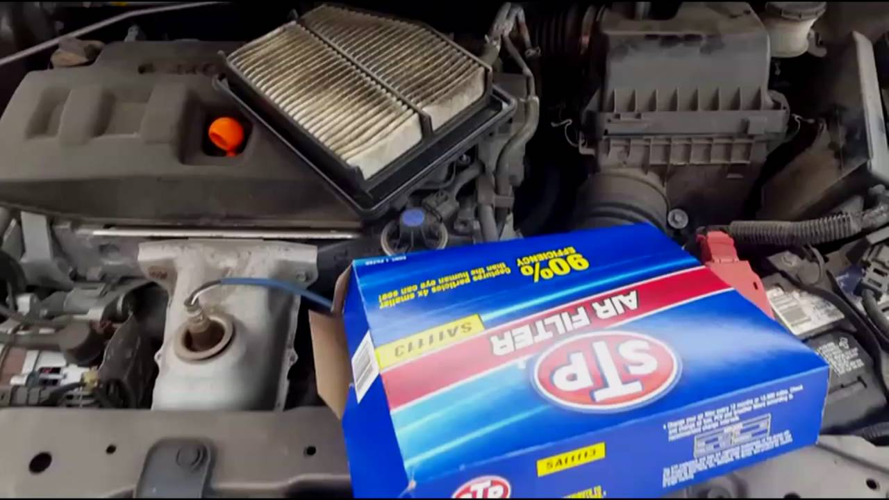 Honda Civic B12 Error Replace Air Filters Under 5 Minutes Youtube