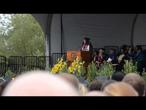 Andriana Collins UCSB Commencement Speech 6/15/14