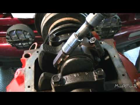 94 S10 4.3L Risky Rod Bearing Replacement - See Disclaimer