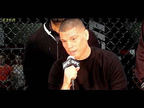 Nate Diaz Accuses Conor McGregor and Everyone Else of Being on Steroids