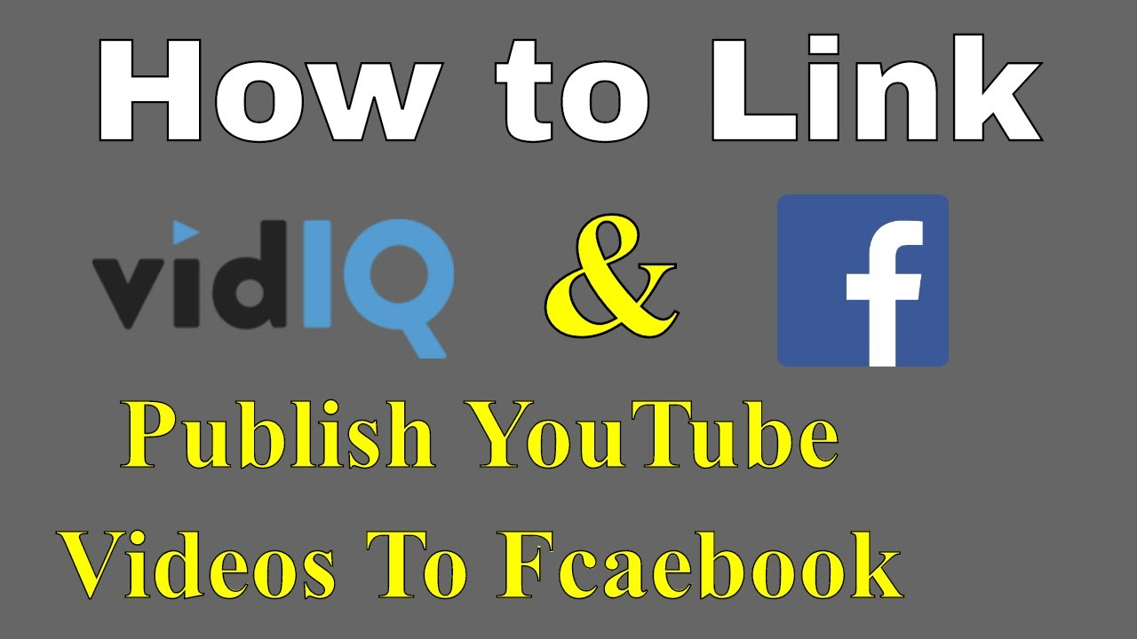 How To Link Your Youtube Video To Facebook Share your