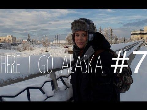 Here I go Alaska #7: Segundo dia, Nativos, Visitors Guide, Alces.
