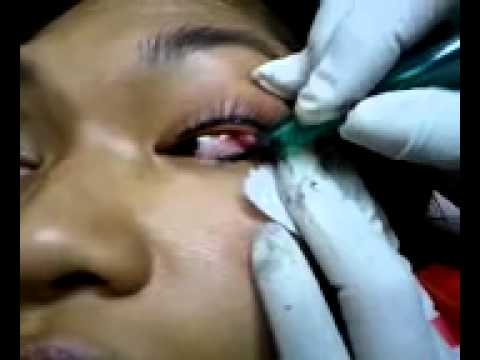 SofTap Permanent Makeup Eyelash enhancement - YouTube