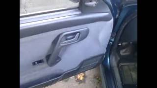 Простейшая  Установка кнопок стеклоподъемников в двери ВАЗ 2110.Сделай САМ!!!