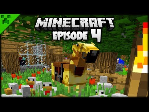 Minecraft Nether Fortress & EPIC Horse!  Python's World Minecraft Survival Let's Play  Episode 4