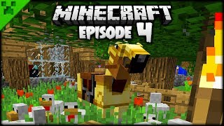 Minecraft Nether Fortress & EPIC Horse! | Python's World (Minecraft Survival Let's Play) | Episode 4