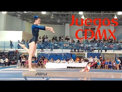 gimnasia---juegos-cdmx---yeimi-ibarra-dptvo.-pavon---viga-nivel-3---artística-2018-gymnastics