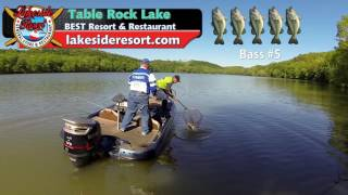 Taneycomo Bass Tournament - Weekend Waters April 23, 17