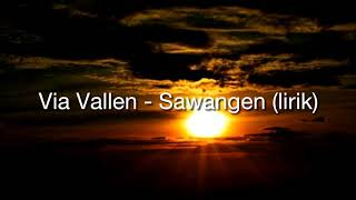 Gambar cover Via vallen - sawangen (lirik)
