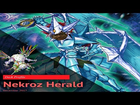 YUGIOH! *IN-DEPTH* Nekroz Herald Deck Profile December 2017 *PLUS* 2 Card Combo!!
