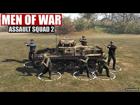"""Assault Squad 2: Men of War Origins The Road to Victory """"P.O.W"""" Real Time Tactics 