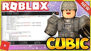 *NEW* ROBLOX EXPLOIT/HACK: CUBIC [WORKS!] FULL LUA SCRIPT EXEC W/ DEX, GRABKNIFE, GUI, & MORE!