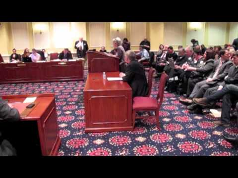 Mary Ellen Russell speaks on changing definition of marriage in Maryland