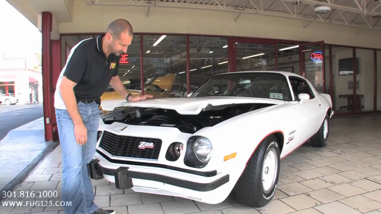1977 Chevrolet Camaro Z28 for sale with test drive driving sounds and walk through video