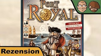 Port Royal - Kartenspiel Test - Board Game Review #27