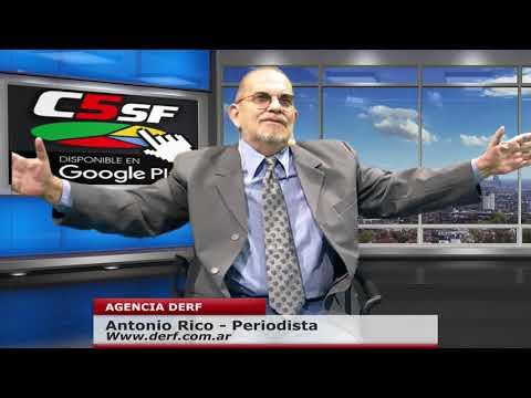 Antonio Rico: Dura oposición a Fernández